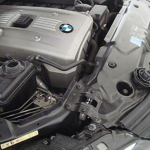 2008 BMW 525 Radiator 3